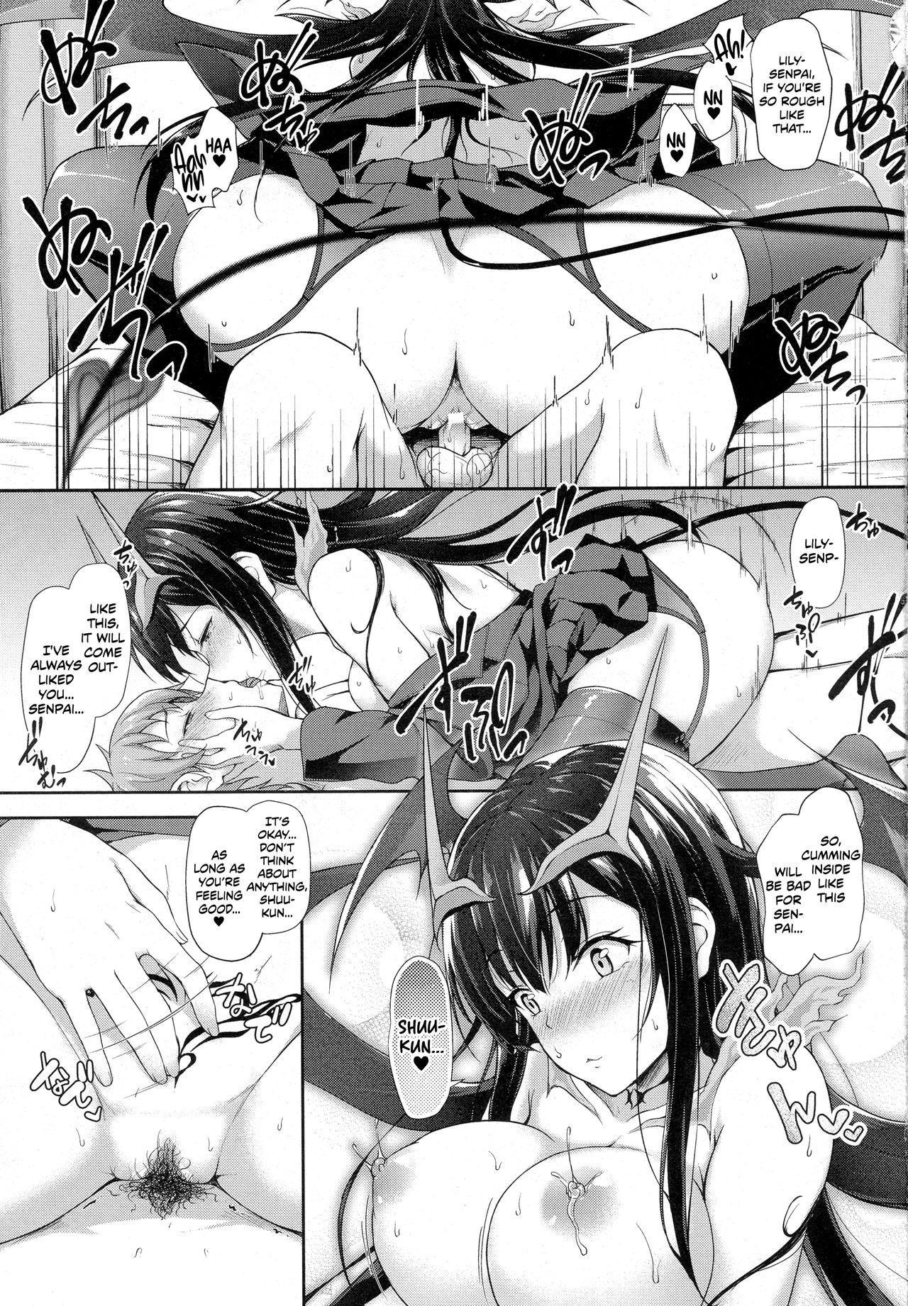 Attaka Milk no Shiboriai | Squeezing Out Each Other's Warm Milk 10