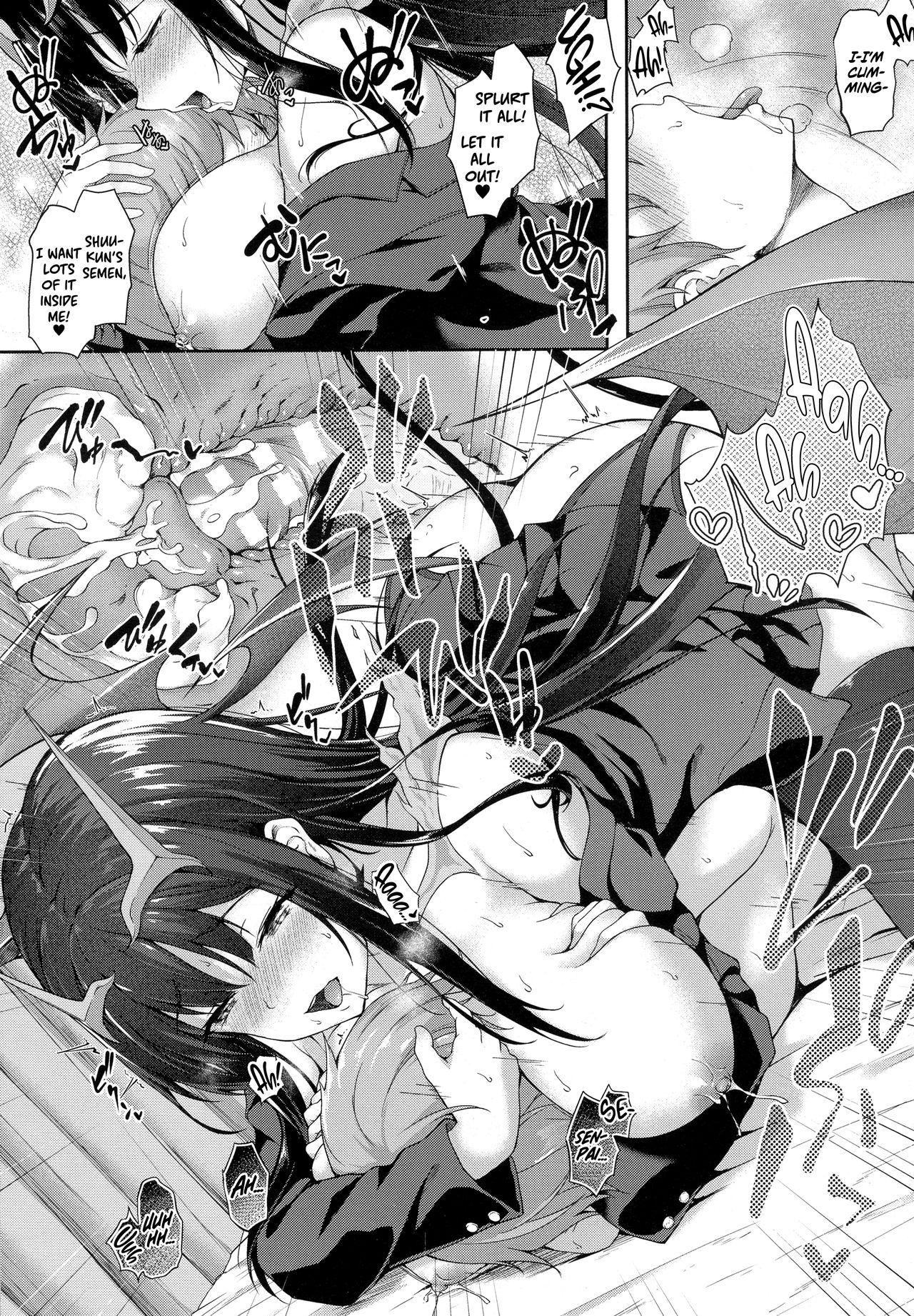Attaka Milk no Shiboriai | Squeezing Out Each Other's Warm Milk 16