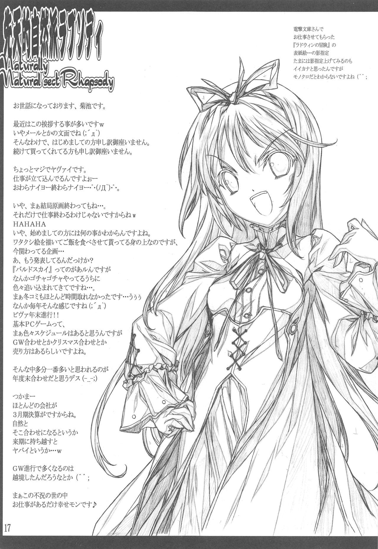 Sententeki Shizenha Rhapsody 17