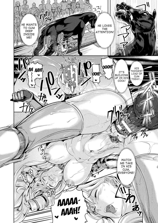 [Satou Souji] Shiro Bara no Kishi Loriana ~Koukai Juuzoku~ | White Rose Knight Loriana ~Public Besitality~ (COMIC Unreal 2019-10 Vol. 81) [English] [desudesu] [Digital] 9