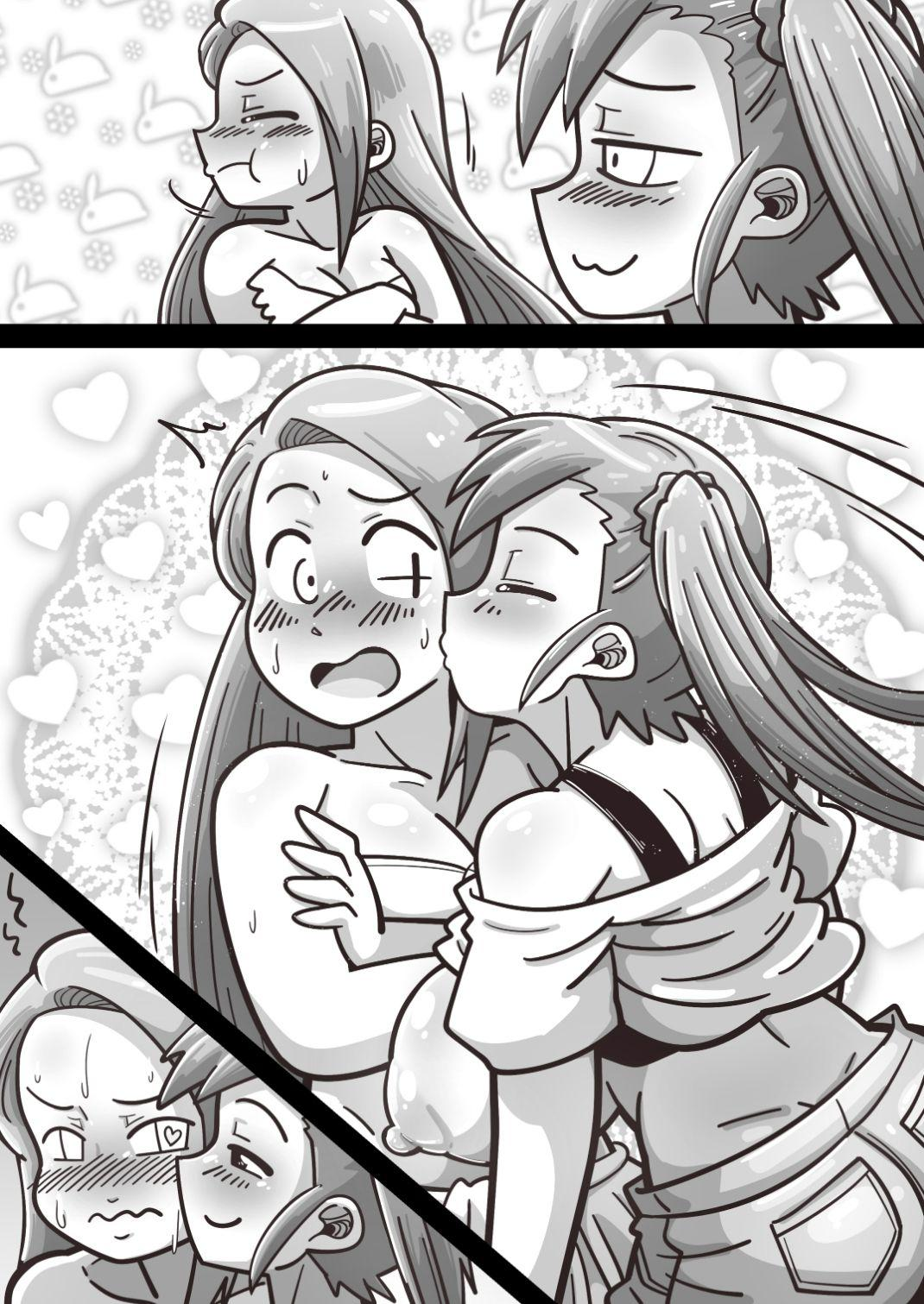 Futanari Iorin ga Mami no Oppai o Tannou suru Manga 38