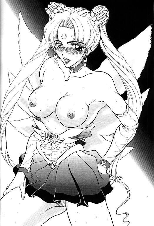 (SC1) [ENERGYA (Roshiya No Dassouhei)] COLLECTION OF -SAILORMOON- ILLUSTRATIONS FOR ADULT Vol.1 (Bishoujo Senshi Sailor Moon) 26