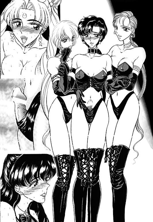 (SC1) [ENERGYA (Roshiya No Dassouhei)] COLLECTION OF -SAILORMOON- ILLUSTRATIONS FOR ADULT Vol.1 (Bishoujo Senshi Sailor Moon) 29