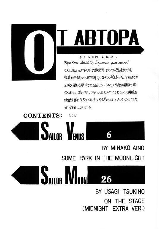 (SC1) [ENERGYA (Roshiya No Dassouhei)] COLLECTION OF -SAILORMOON- ILLUSTRATIONS FOR ADULT Vol.1 (Bishoujo Senshi Sailor Moon) 3