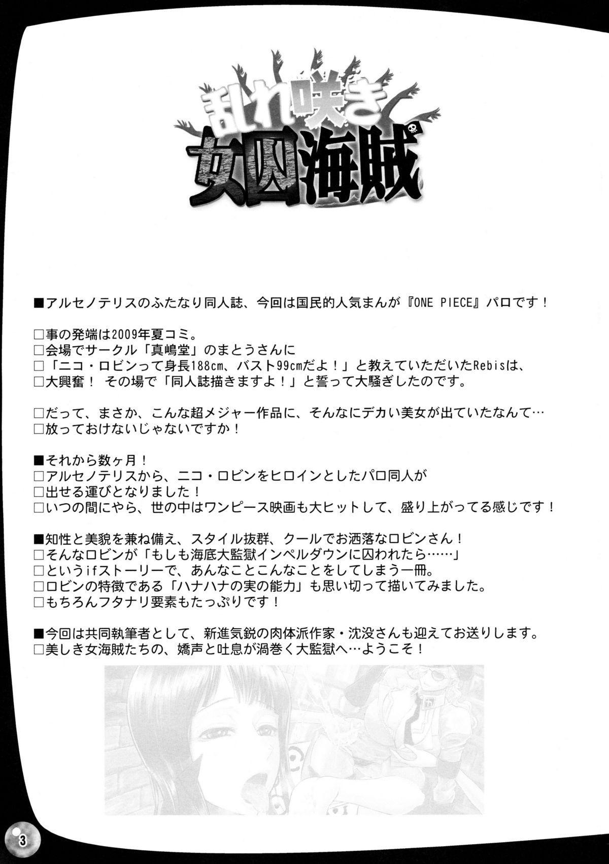 Midarezaki Joshuu Kaizoku 1