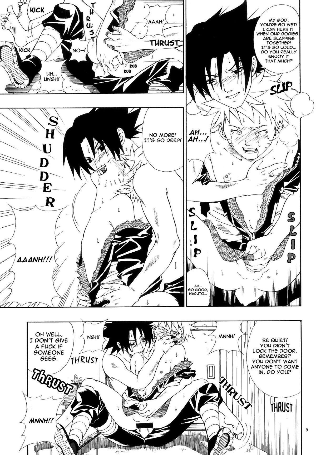 ERO ERO²: Volume 1.5  (NARUTO) [Sasuke X Naruto] YAOI -ENG- 7