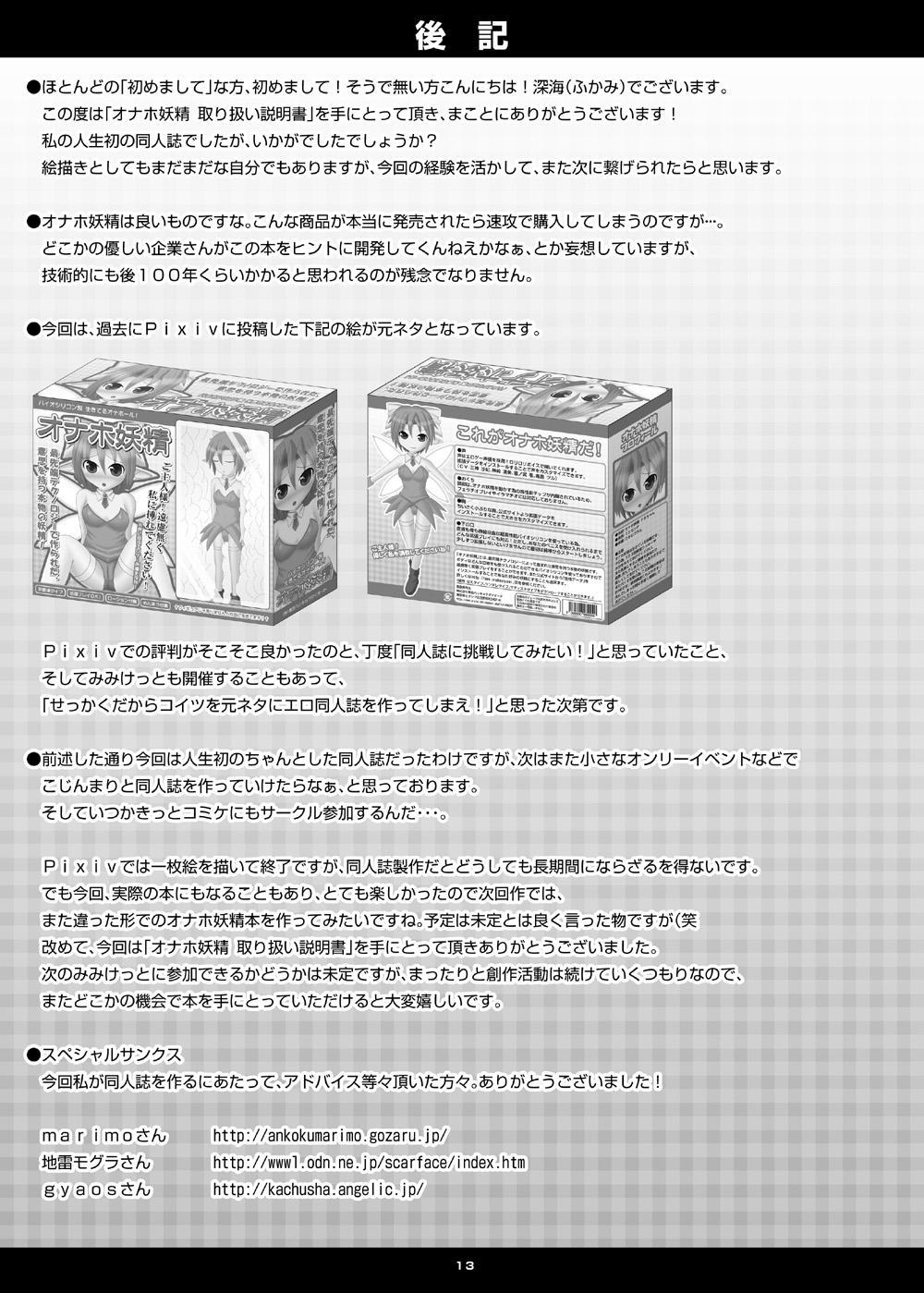 Onaho Yousei Toriatsukai Setsumei-sho 11