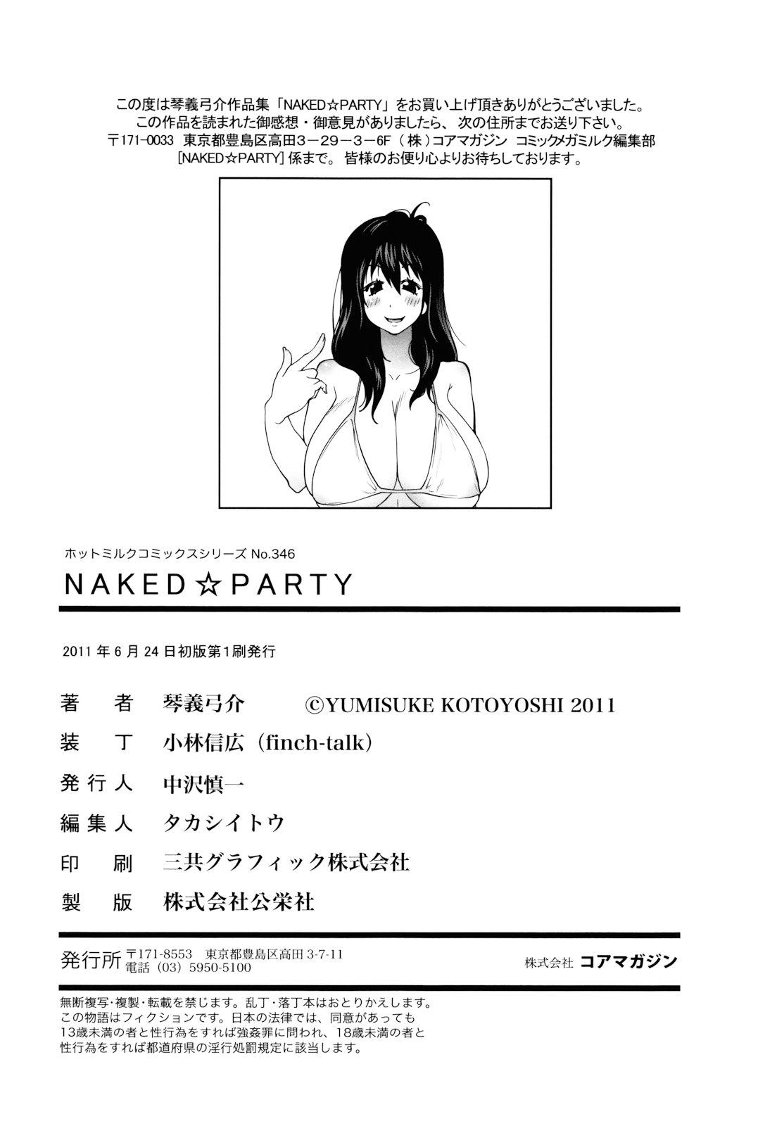 NAKED PARTY 189