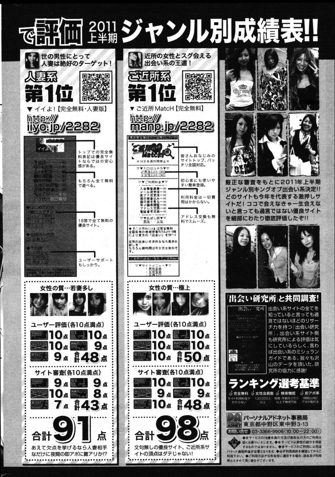 COMIC Shitsurakuten Vol.02 2011-08 257
