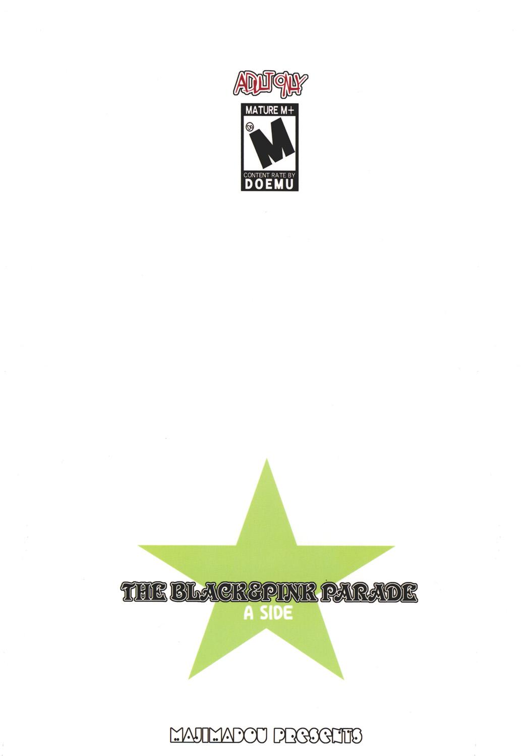 THE BLACK & PINK PARADE A-SIDE 18