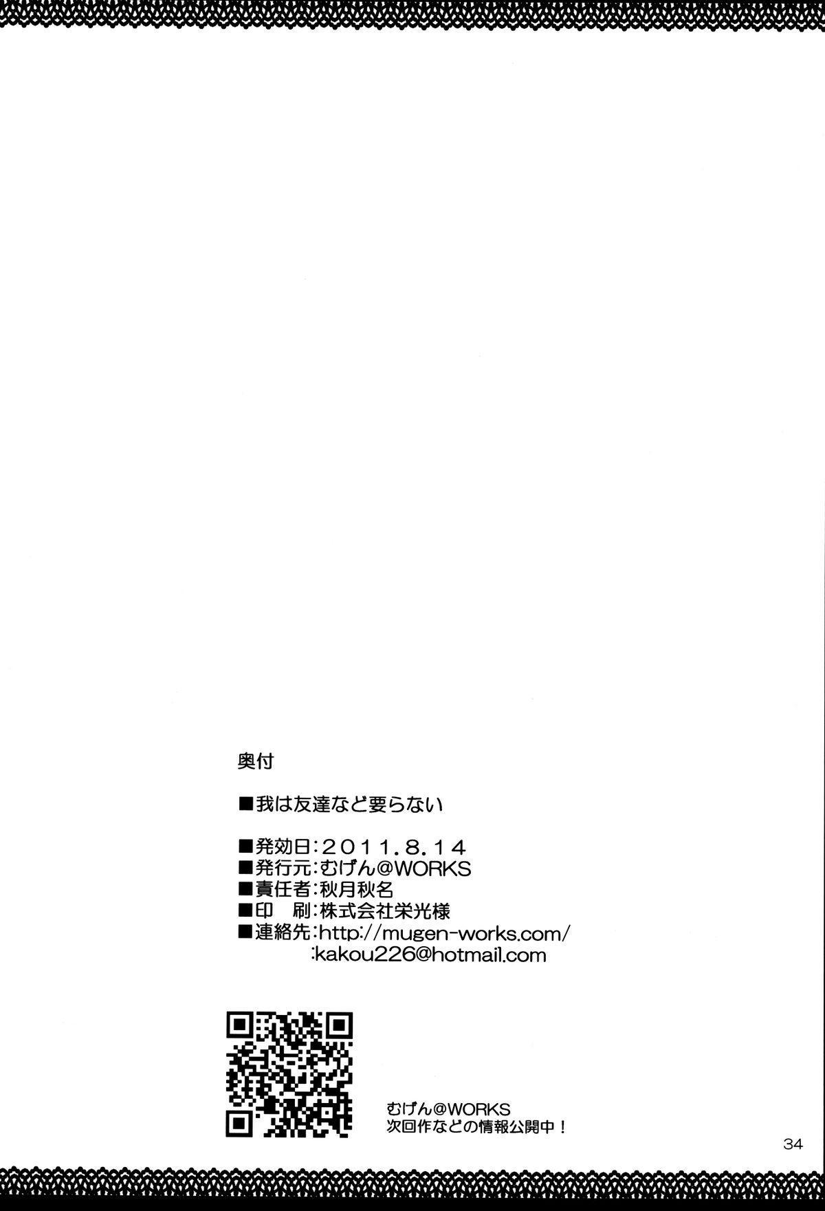 Ware wa Tomodachi Nado Iranu 33