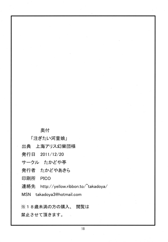Sosogitai Kappa Musume 17