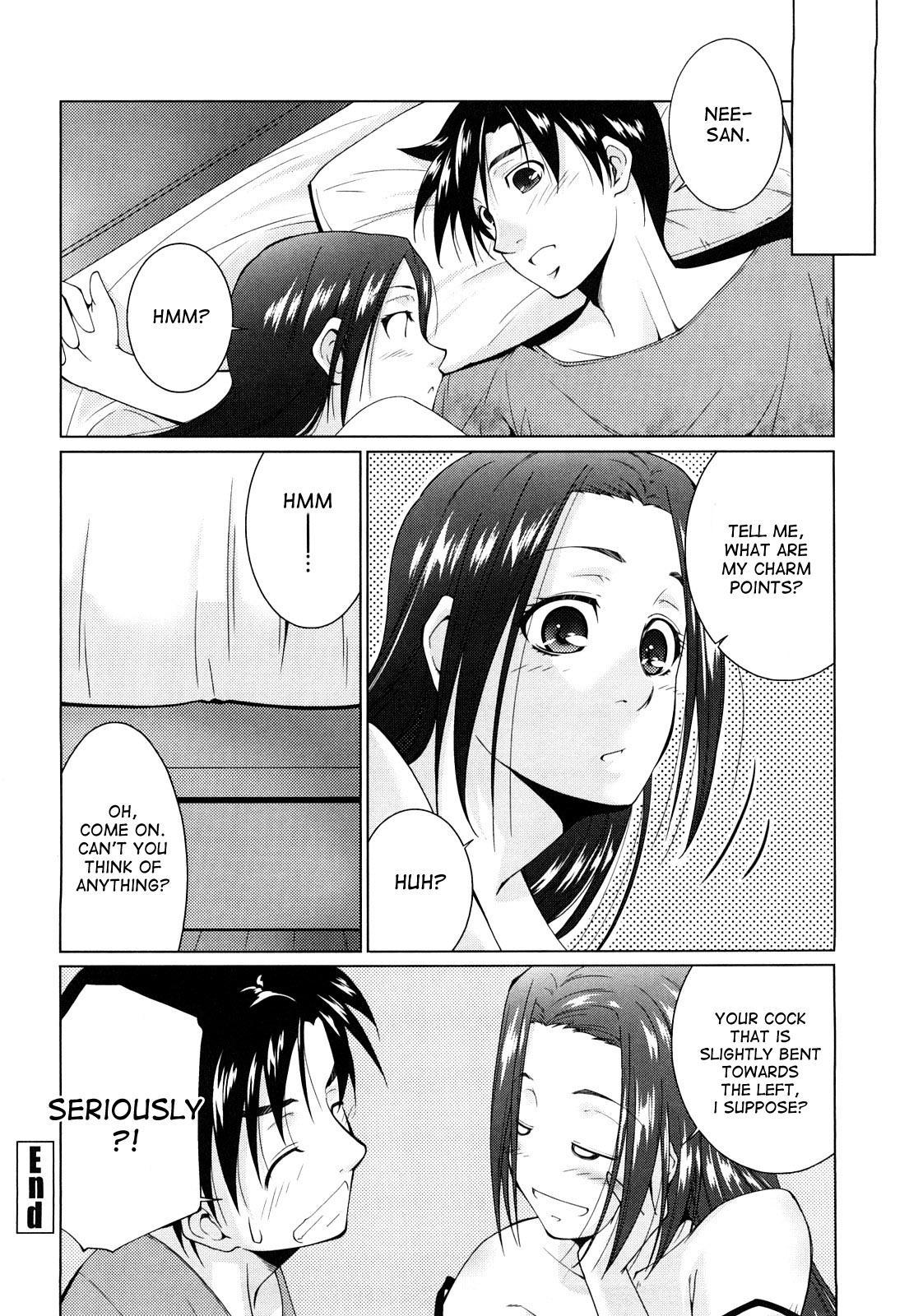 [Touma Itsuki] Ane-sama Inkou - Sister's Sexy Smell Ch. 1-6 [English] [desudesu] [Decensored] 51