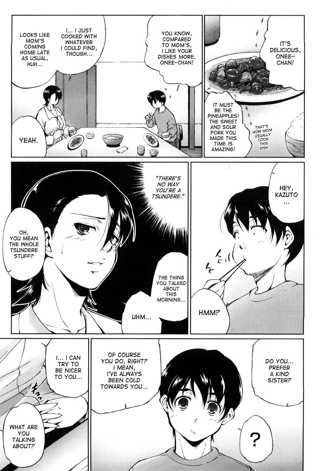 [Touma Itsuki] Ane-sama Inkou - Sister's Sexy Smell Ch. 1-6 [English] [desudesu] [Decensored] 54