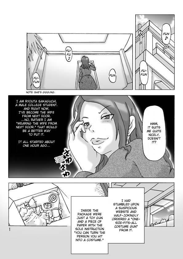 Tonari no Oku-san ni kigaete   Changing into the Wife Next Door 1
