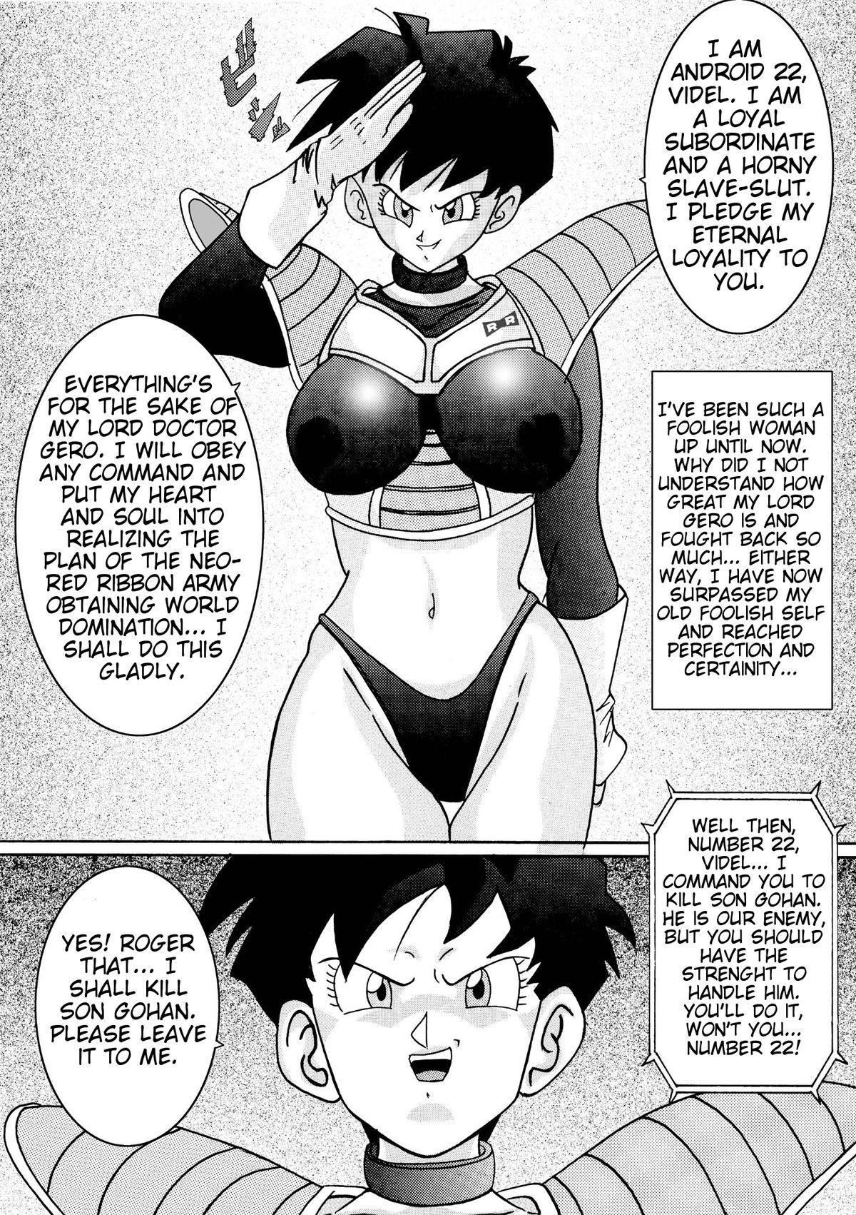 [Light Rate Port Pink] Tanjou!! Aku no Onna Senshi - Videl Sennou Kaizou Keikaku | Birth of an evil female soldier - The Videl brainwashing project  (Dragon Ball Z) [English] [DarkSpooky] 35